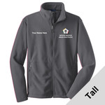 TLF217 - WB Pilot Logo - EMB - Tall Fleece Jacket