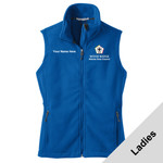 L219 - WB Pilot Logo - EMB - Ladies Fleece Vest