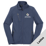 L324 - WB Pilot Logo - EMB - Ladies Soft Shell Jacket