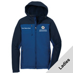 L335 - WB Pilot Logo - EMB - Ladies Hooded Soft Shell Jacket