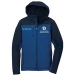 J335 - WB Pilot Logo - EMB - Hooded Soft Shell Jacket
