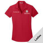 L572 - WB Pilot Logo - EMB - Ladies Wicking Polo