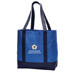BG406 - WB Pilot Logo - EMB - Project Tote Bag