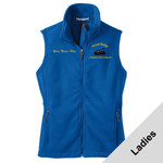 L219 - A114E001 - EMB - Ladies Fleece Vest