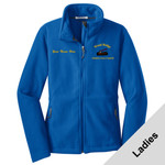 L217 - A114-S1.0-2017 - EMB - Ladies Fleece Jacket