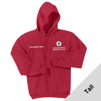 PC90HT - WB Pilot Logo - EMB - Tall Pullover Hoodie
