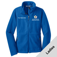 L217 - WB Pilot Logo - EMB - Ladies Fleece Jacket