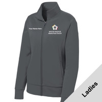 LST241 - WB Pilot Logo - EMB - Ladies Full Zip Wicking Jacket