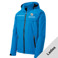 L333 - WB Pilot Logo - EMB - Ladies Waterproof Jacket