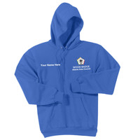 PC90H - WB Pilot Logo - EMB - Pullover Hoodie