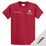 LPC61 - WB Pilot Logo - EMB - Ladies 100% Cotton T-Shirt